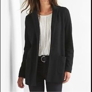 Gap Marled-Double Knit Blazer